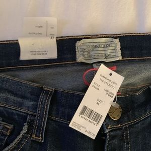 Current Elliot Jeans NWT 75% off retail price